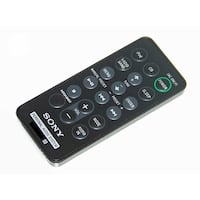 OEM Sony Remote Control Originally Shipped With: ZSS3iP, ZS-S3iP, ZSS3iPBLACK, ZS-S3iPBLACK
