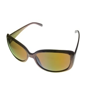 Esprit Womens Sunglass 19306 535 Demi Square Fashion Plastic faux Croco Print