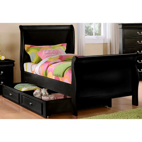 Emmet Louis Phillippe Bedroom Set (4pc/ 5pc)
