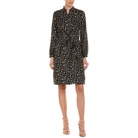 Rebecca Taylor Vine Silk Shirtdress