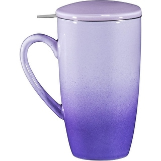 Link to 16oz Ceramic Tea Mug with Stainless Steel Infuser Similar Items in Dinnerware