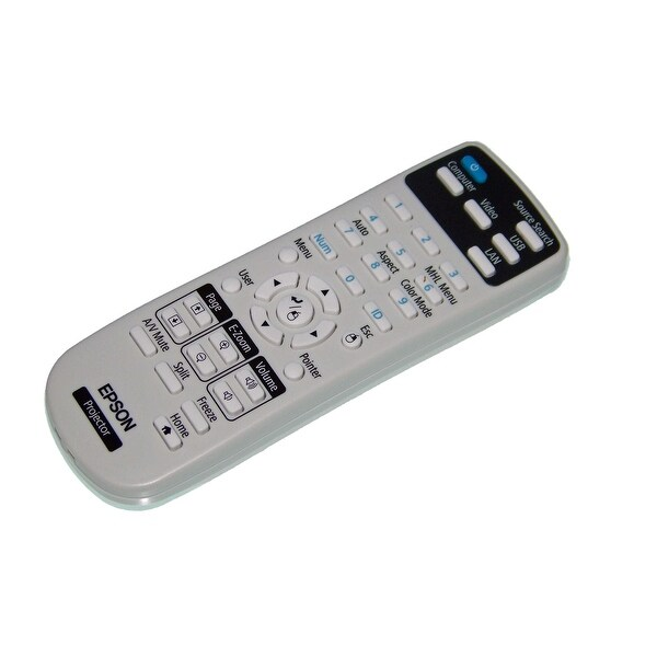 Epson Remote Control Originally Shipped With: PowerLite 1224, 1264, 1284