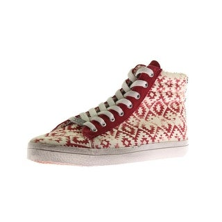Kim & Zozi Womens Gypster Canvas High Top Fashion Sneakers
