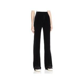 Vince Womens Casual Pants Velvet Silk