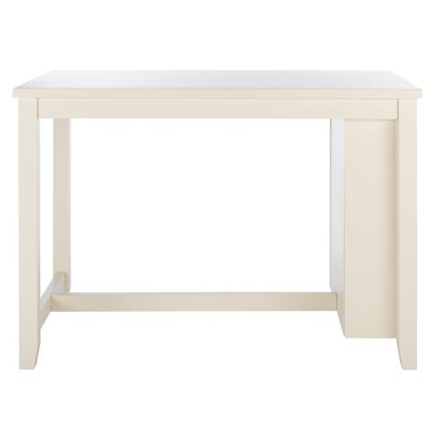 "SAFAVIEH Aero Rectangle Counter Dining Table - 50"" W x 30"" L x 36"" H"