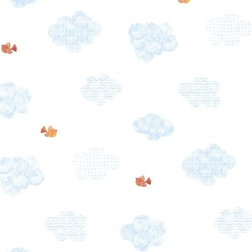Brewster HAS01221 Noah's Sky Clouds Wallpaper