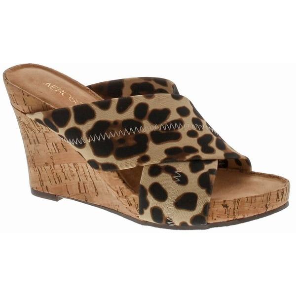 Aerosoles Women's Party Plush Wedge Sandal