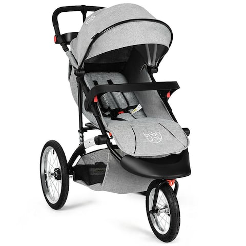 Baby-Joy Portable Folding Stroller Baby Jogger Kids Travel Pushchair