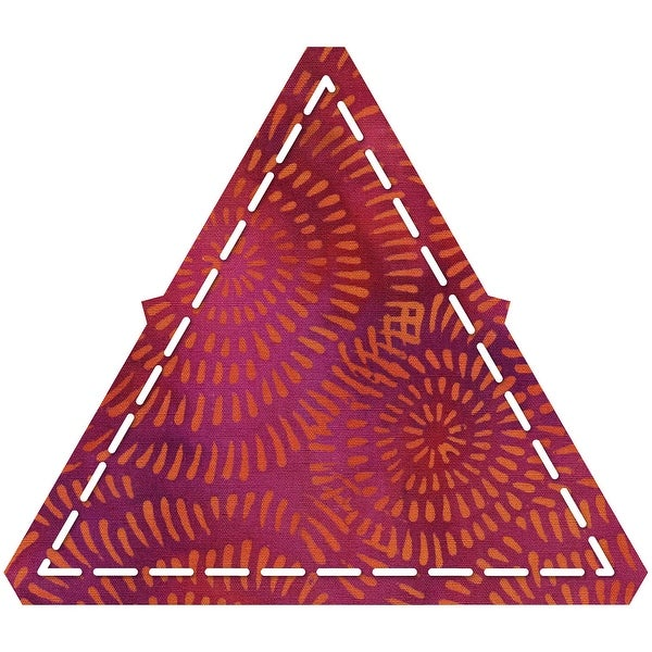"Go! Fabric Cutting Dies-Equilateral Triangle 4-1/4"" Sides"