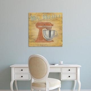 Easy Art Prints June Erica Vess's 'Hip Kitchen III' Premium Canvas Art