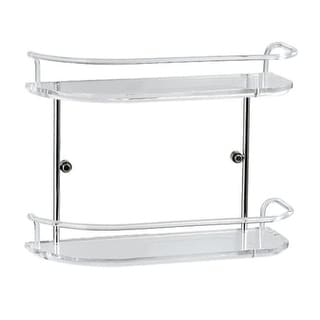 Nameeks 2542  Toscanaluce Gardenia Glass Bathroom Shelf - Transparent