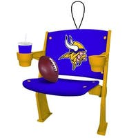 Minnesota Vikings Stadium Chair Ornament