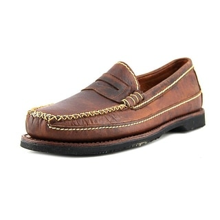 Chippewa American Bison Penny 2E Round Toe Leather Loafer