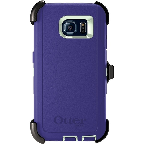 newest 25f26 b23cc Otterbox Defender Series Case for Samsung Galaxy S6 - Green/Liberty Purple  Certified Refurbished