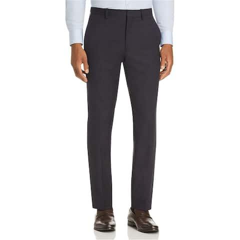 Theory Mens Tonal Dress Pants Slacks, Blue, 38W x 34L - 38W x 34L