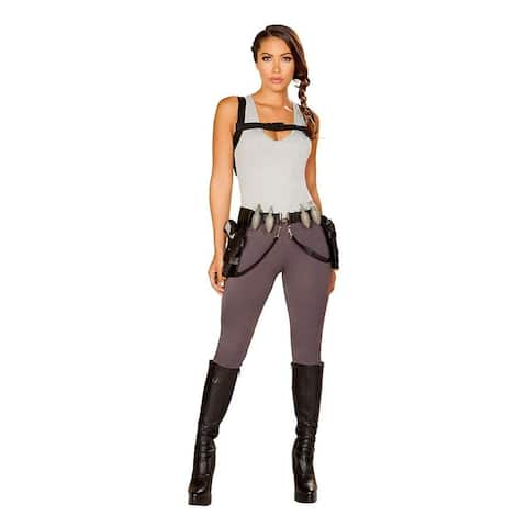 Cyber Adventure Women's Costume - Brown