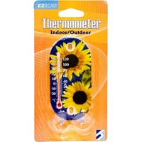 Suction Cup Thermometer Sunflowers