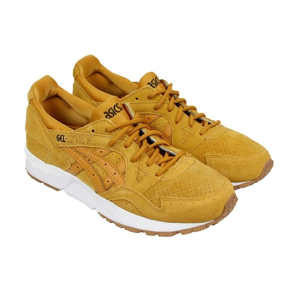 Asics Gel-Lyte V Mens Tan Nubuck Sneakers Lace Up Shoes