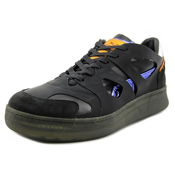 Alexander McQueen By Puma McQ Move Lo Men Round Toe Leather Black Sneakers