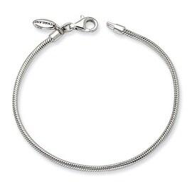 """Sterling Silver Reflections Kids Lobster Polished Bracelet (2mm) - 7.75"""""""