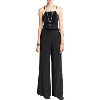 Free People Womens Jumpsuit Tencel Open Back