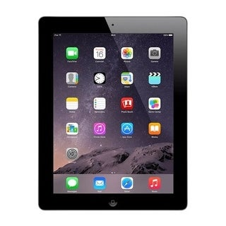Refurbished iPad 4th Generation MD510LL/A (Wi-Fi) 16GB Black (Option: Black)
