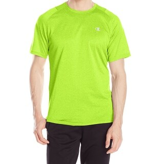 Champion NEW Yellow Mens Size Large L Moisture Management Athletic Top 486