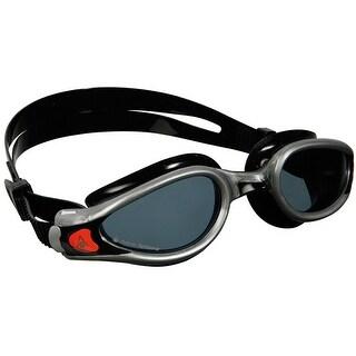 Aqua Sphere Kaiman EXO Smoke Lens Swim Goggles - Silver/Black