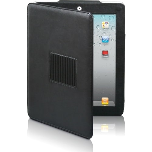 Premiertek LC-IPAD2-STD Premiertek LC-IPAD2-STD Carrying Case (Flip) for iPad - Leather