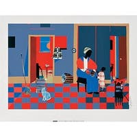 ''Early Carolina Morning'' by Romare Bearden African American Art Print (26 x 33.75 in.)