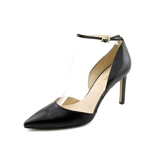 Nine West Camelle Pointed Toe Leather Heels