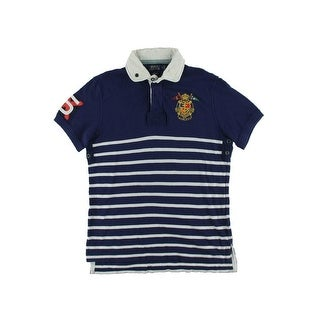 Polo Ralph Lauren Mens Pique Custom Fit Polo Shirt - M