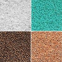Exclusive Beadaholique Toho Seed Bead Palette, Round 15/0, 32 Grams, Bay Breeze