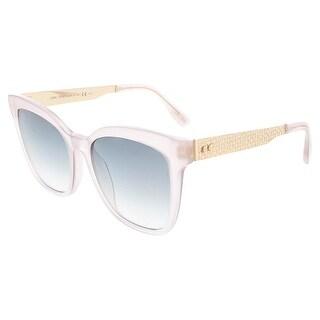 Jimmy Choo JMC JUNIA/S 0PRS Pink Gold Cat Eye sunglasses