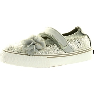 Morgan & Milo Girls Dazzle Mj Fashion Glitter Casual Flats