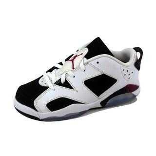 Nike Pre-School Air Jordan VI 6 Retro Low White/Sport Fuchsia-Black 768884-107