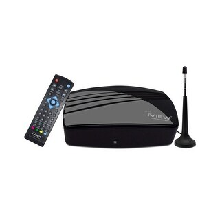 IVIEW-3200STB-A Multimedia Converter Box. Digital to Analog, QAM tuner, with Recording function - Free Antenna Included