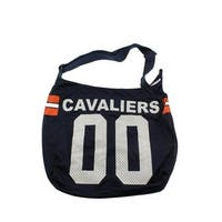 Get Ready Girls Womens Virginia Cavaliers Hobo Handbag Printed Tricot - MEDIUM