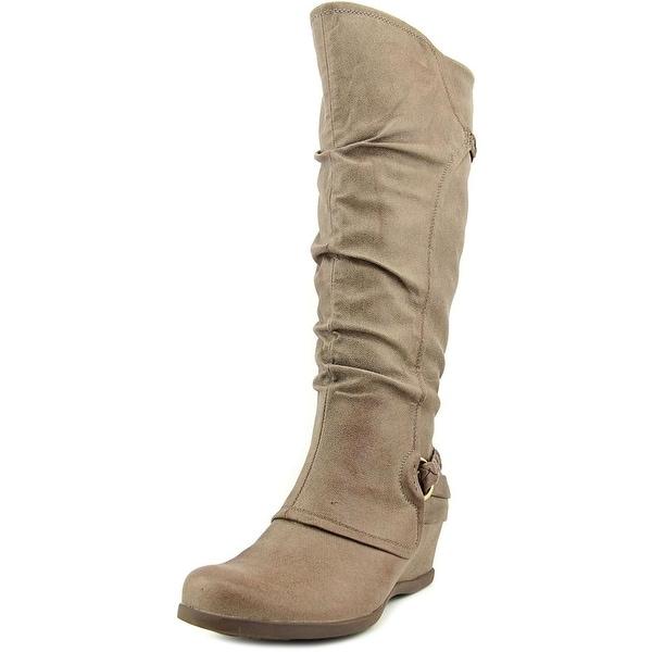 Baretraps Quintona Wide Calf Mushroom Boots