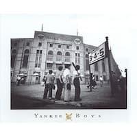 ''Yankee Boys, Yankee Stadium, Bronx NY'' by Corbis Archive Sports/Games Art Print (16 x 20 in.)