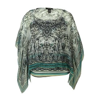 Style & Co Women's Batwing Sleeve Blouse - 1x