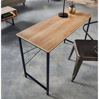 Link to Carbon Loft Morse Industrial Desk Similar Items in Desks & Computer Tables