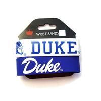 Duke Blue Devils Rubber Wrist Band Set