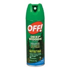 Off 01842 Deep Woods Insect Repellent, 6 Oz
