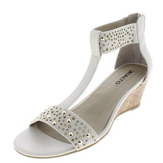 Link to Rialto Womens Cleo Wedges T-Strap Heels Similar Items in Women's Shoes