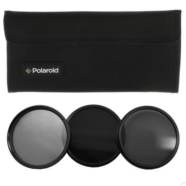 Polaroid Optics 67mm Neutral Density (ND) Pro-Grade 3-Piece Filter set
