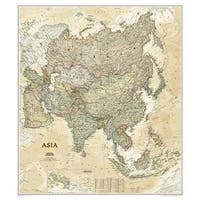 National Geographic Maps RE01020433 Asia Executive