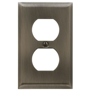 Baldwin 4752.CD Beveled Edge Solid Brass Single Duplex Switchplate (More options available)
