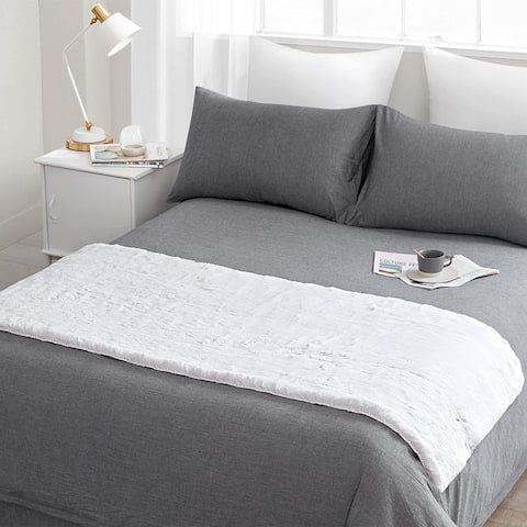 Chunky Bunny - Coma Inducer® End of Bed Runner - White