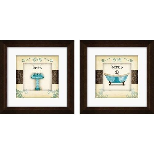 PTM Images 1-17005 Whimsical Bathroom Wall Art (Set of 2) - N/A